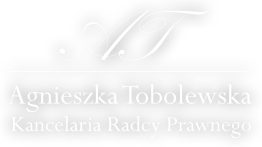 Kancelaria Radcy Prawnego – Agnieszka Tobolewska